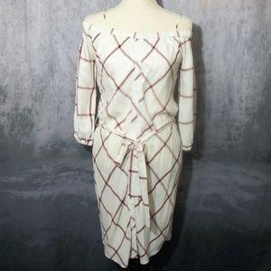 Splendid by Anthropologie Off Shoulder Dress Small